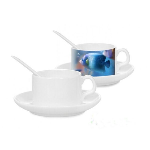 Set of 2 Personalized Tea Cups